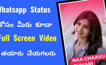 Whatsapp status video telugu download free